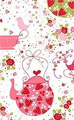 Strawberry Tea Party, Michael Miller