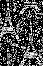 Eiffel Tower Black, Michael Miller