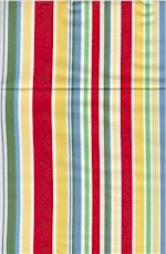 Cha Cha Stripe Yellow, Multi, Michael Miller