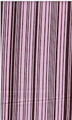 Bar Code Stripe, Pink/Brpwn, Michael Miller