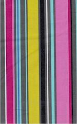 Petal Stripe Multi, Michael Miller
