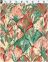 Petula Scallop, Upholstery Weight Print