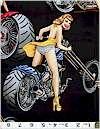 Biker Babes Black Alexander Henry