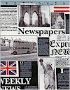 London English Newspaper, Benartex Fabrics