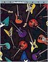 Guitars, Black, Robert Kaufman