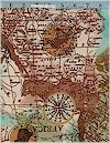 Map of Africa, India More!  Timeless Treasures