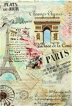 Paris Collage, Timeless Treasures