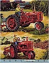 Farmall IH Tractors Scenic, Licensed to VIP