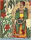 Frida's Garden, Frida Kahlo, Natural, Alexander Henry