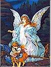 Guardian Angel COTTON Panel, 24 x 44, Fabriquilt