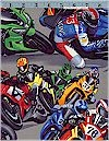 Pulling GS Motorcycle Racers Alexander Henry Limited See Item Description