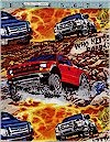 Ford Trucks, Multicolor. Print Concepts