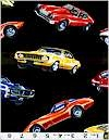 Muscle Cars Timeless Treasures Limited Stock 1 7/8 Yards Please See Item Description