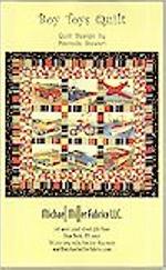 Boy Toys Quilt, Pattern, Michael Miller