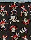 Skulls On Black Shamash Limited 2.68 Yds Remain