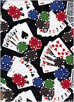 Games of Chance, Poker Hands, Elizabeth Studios