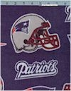 New England Patriots FLEECE, Fabric Trad., Reg 13.49