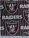 Oakland Raiders FLEECE, Fabric Traditions