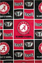 University of Alabama , Crimsontide, Fabric Traditions
