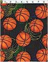Basketballs And Nets, Timeless Treasures