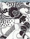 Firenze, Black & White,  Alexander Henry, Reg 11.25