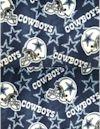 Dallas Cowboys FLEECE, Fabric Traditions, Reg 13.49