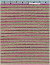 Tiny Ticking Stripe, Tulip, Lakehouse. REG 9.95