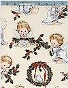 Christmas Cherub, Natural, Elizabeth Studio, Reg 10.50