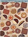 Biscotti Cookies Tossed, SPX Fabrics, REG. 10.25