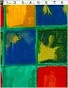Multi Color Bright Block Heavy Weight Cotton, Reg 10.50