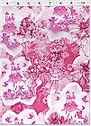 Fairy Dreamland Toile Pink,  Michael Miller