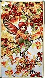 Hawthorne Fairy Autumn, Panel, Now In Stock!