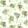 Morning Fairy Dots, Apple, Accented, Michael Miller, BACK IN STOCK