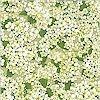 Morning Flower Garden Coord, Apple, FLANNEL, Michael Miller