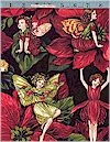 Holiday Fairies Cicely Mary Barker, Gold Accented Michael Miller