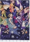 Enchanted Fairy Border. Silver Accented, Michael Miller