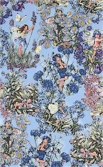 Periwinkle Flower Fairies, Michael Miller