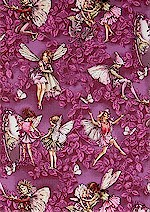 Magical Evening Fairies, Silver Accented, Michael Miller
