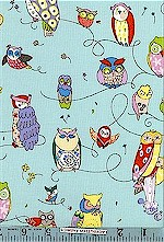 Spotted Owl Blue, Alexander Henry