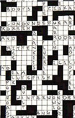 Snow Day Crossword Puzzle, Alexander Henry