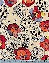 Estrella de los Muertos Skulls Tea Alexander Henry