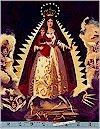 La Virgin De La Caridad Black Gold Accented Alexander Henry