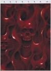 Skulls On  Fire, Red, Alexander Henry