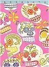 Calaveras, Skulls, Hot Pink, Glittered, Alexander Henry<br>BACK IN STOCK