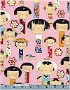 Yui Kokeshi, Pink, Alexander Henry