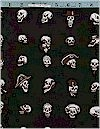 Voo Doo Magic Skulls Alexander Henry