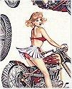 Biker Babes Natural Alexander Henry