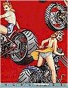 Biker Babes Red Alexander Henry