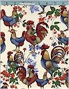 French Country Roosters Fabriquilt