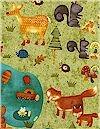 Forest Fun Critters Robert Kaufman